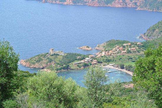 Golfo di Porto, Girolata e Riserva di Scandola: hameau de Girolata