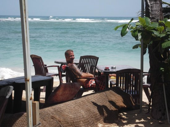Tartaruga Hotel & Beach Restaurant: Restaurant am Strand
