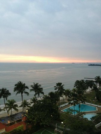 The Regency Tanjung Tuan Beach Resort: hampir magrib