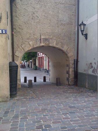 Swedish Gate (Zviedru Varti): View South from Torna iela