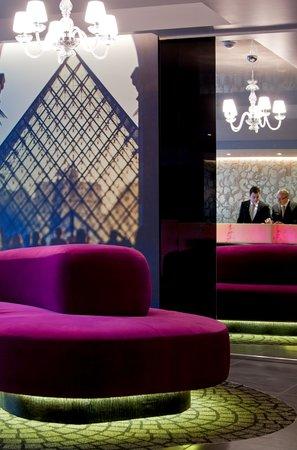 La Villa Maillot: Lobby