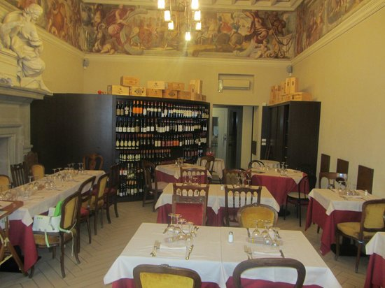 Ristorante Sociale: Restaurant on the first floor