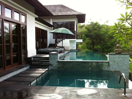 The Damai: View from back of Villa
