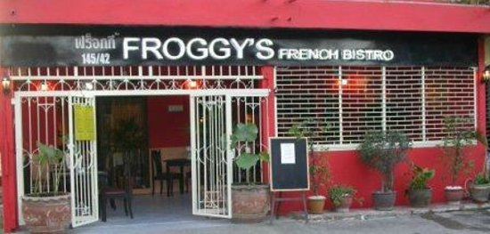 Froggy's French Bistro: this is the new look after renovation.