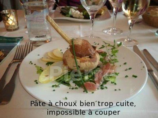Le Pommier Restaurant: la fameuse entrée immangeable