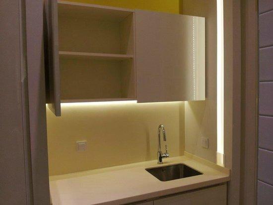 Republika Academic Aparts: Mini kitchen at room