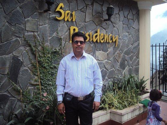 Sai Residency: Front
