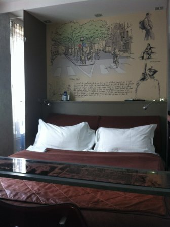 Apostrophe Hotel: Comfy bed