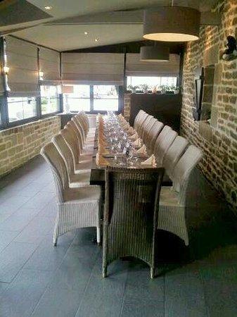 L'Auberge d'Arradon : une table dressée