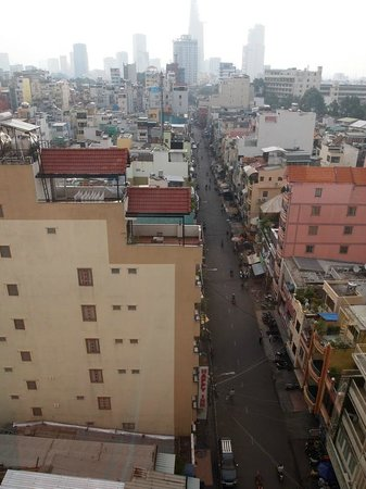 Saigon Mini Hotel 5: View from 10th floor (breakfast room) facing east