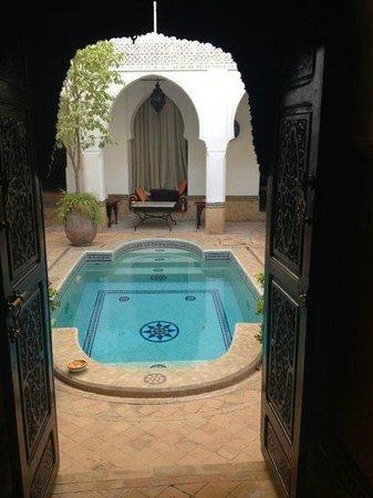 Riad Al Andaluz: Pool