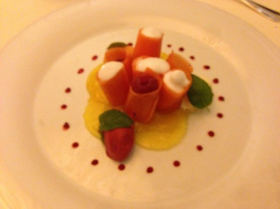 Acquarello: Ягодный десерт