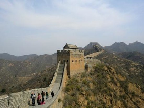 Pinggu Jiangjunguan Great Wall: Be prepared for some steep steps, but it's worth it