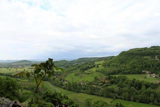 Chateau de Termes : vue