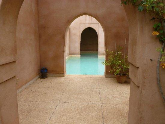 Les Jardins de Touhina : la piscine privée