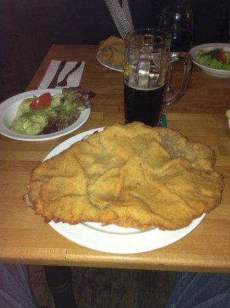 Austria Das Original: Delicious food – oversize Schnitzel