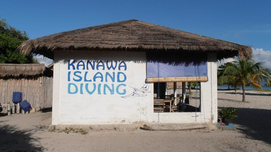 Kanawa Island Diving: the dive shop
