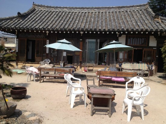 Sa Rang Chae Guesthouse: Yard