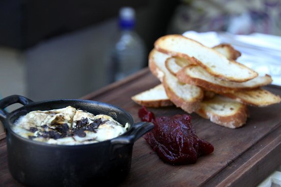 Kloof Street House: Baked Camembert