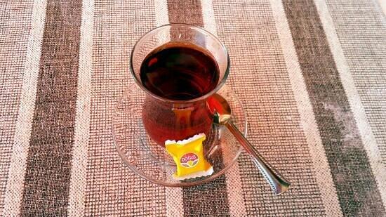 Meydan Restaurant: Turkish tea
