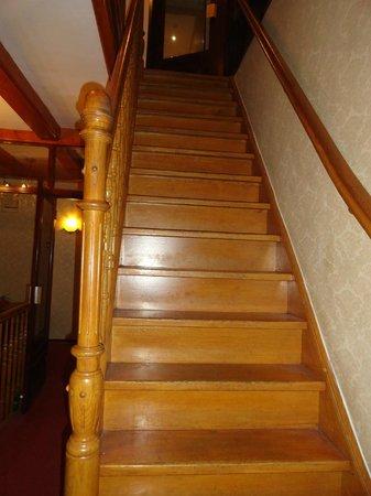 Hotel Atlanta: Escaliers interieurs