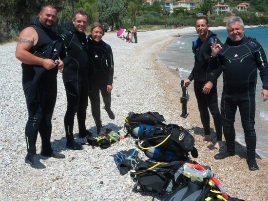 Steni Vala, Greece: Beach dive