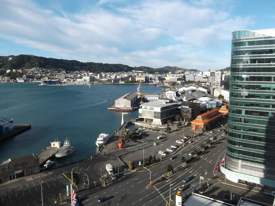 Rydges Wellington: View from suite 1604