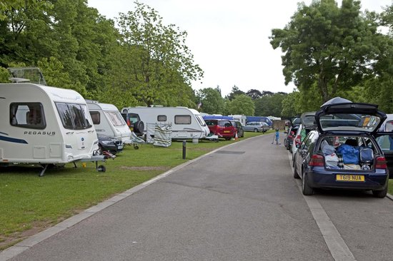 Cardiff Caravan Park: Speedway GP weekend in Cardiff