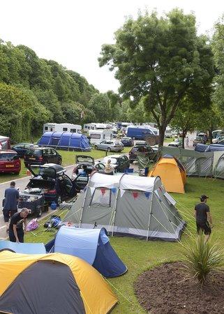 Cardiff Caravan Park: Speedway GP weekend