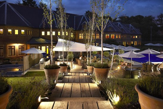 The Spa at Pennyhill Park: The Spa at Dusk
