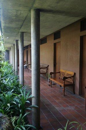 Rumah Turi: hallway first floor