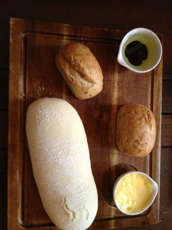 The Butchers Arms: Delicious bread
