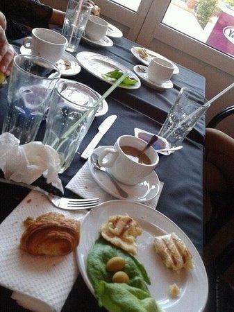 Marrakesh Garden : Breakfast all finished yummy x