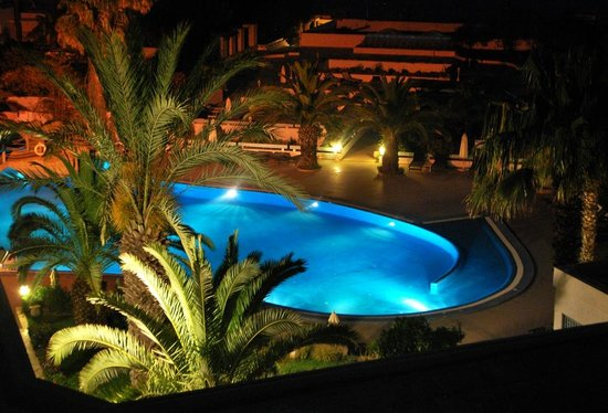 Royal Azur Thalasso Golf : Outdoor pool from our balcony