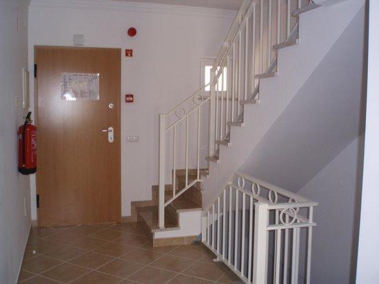 Palmeiras de Santa Eulalia: stairs