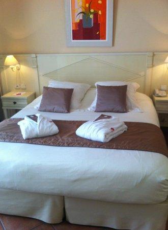 La Closerie Deauville Residence Hôtel : coin nuit