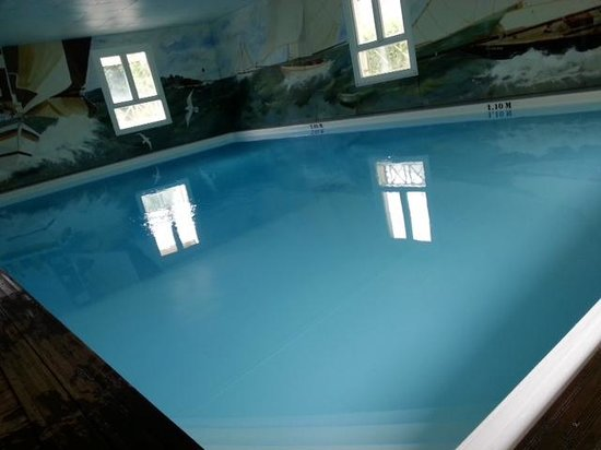La Closerie Deauville Residence Hôtel : piscine