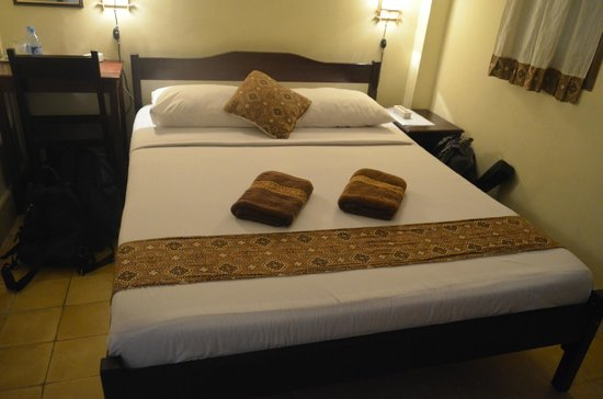 Andrea Hotel : Double bed - lovely!