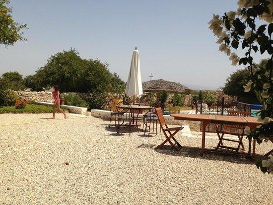 Dar Maris Maison d'hotes : Repas en plein air