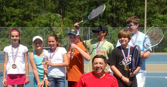 St Augustine Tennis at Treaty Park: Gamble Rogers Tennis Team 2013