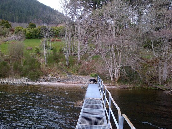 Looking from the Jetty on Loch Ness towards Tigh Na Bruach