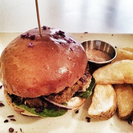 Royale Eatery: My delicious burger...