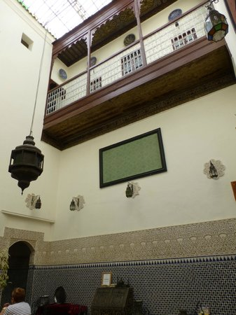 Riad al akhawaine: great room