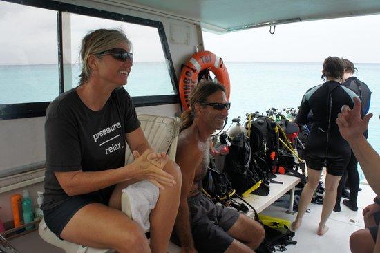 Flamingo Divers: Jayne & Mickie
