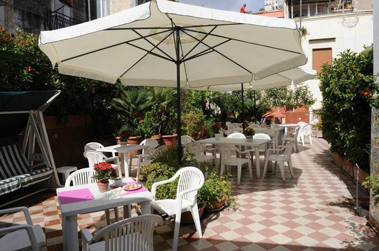 Hotel Toledo : Taras