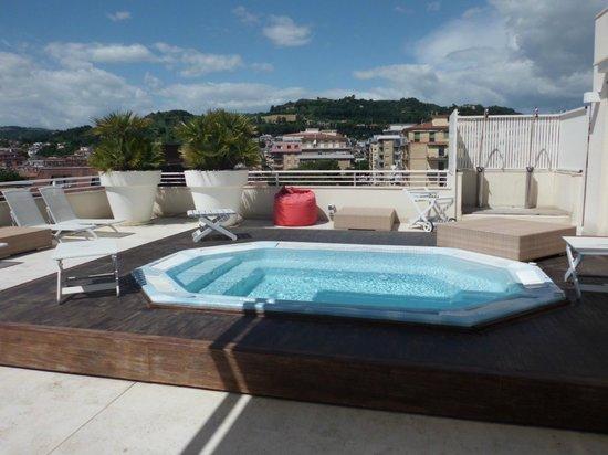 Valentino Resort: Dachterrasse