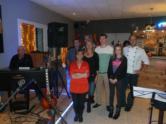 Les Lavandins : Alain, Natalie et toute l'équipe des Lavandins