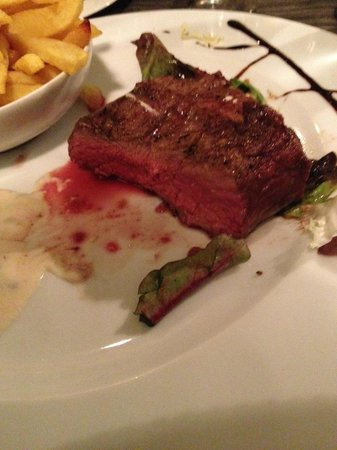 Vic Braseria: filet mignon -medium-