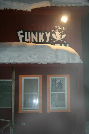 The Funky Red Barn: Funky Logo