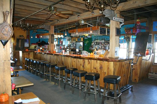 The Funky Red Barn: Belly up for the coldest beer in town and great food.